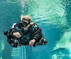 Foto sub per immersioni e codiv
